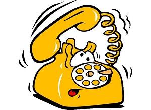 Первый телефонный звонок